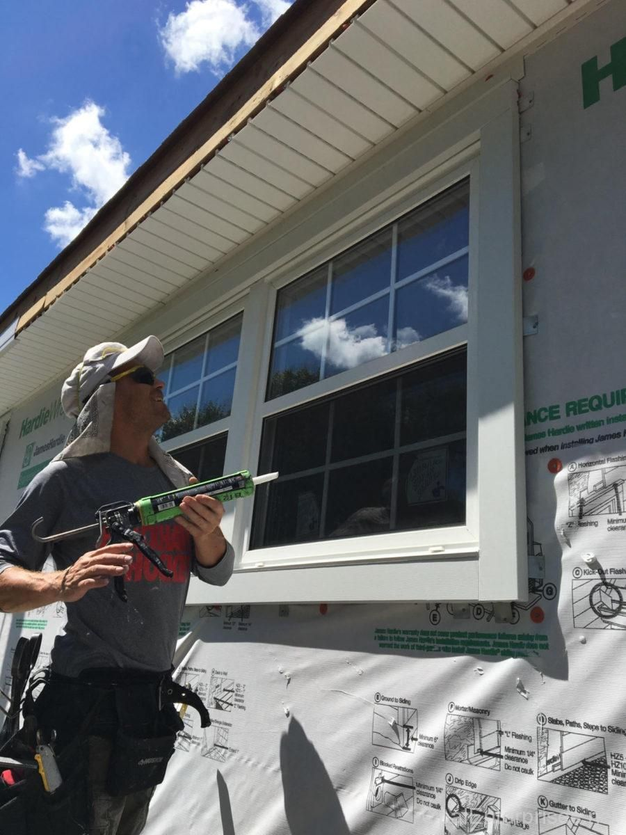 Opal Enterprises Of Naperville Caulking And Sealing Work Naperville Exterior House Renovation Replacing Siding