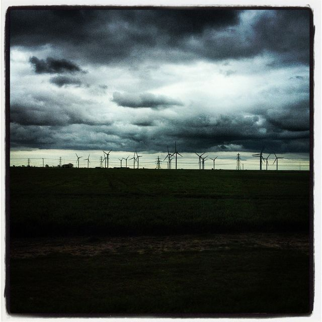 Between Heaven and Earth, the Turbines: Easter 2012: Rye, East Sussex