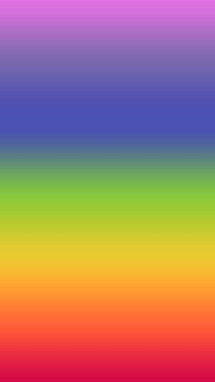 Rainbow Ombre iPhone 6/6s Wallpaper. Created by Amy Raymond. *You may freely share, and use my wallpapers but please do not claim as your own, ...