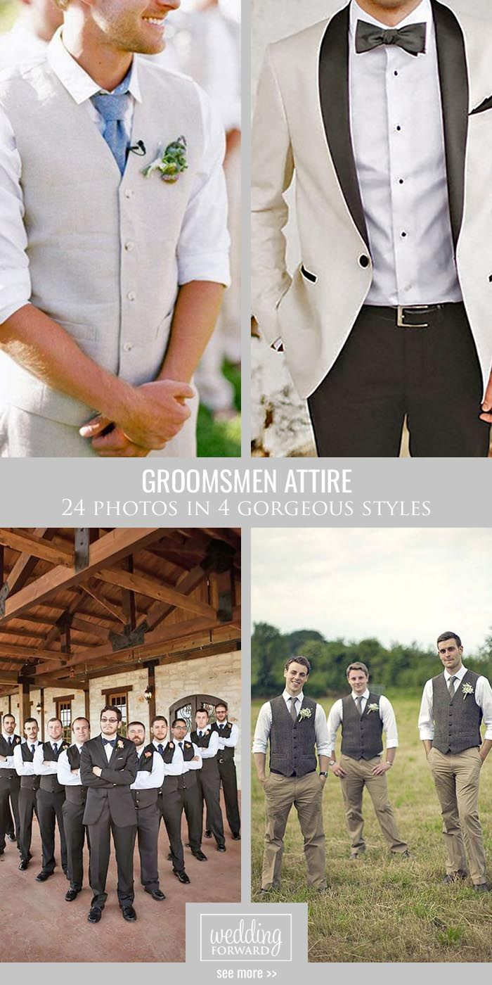 groomsmen attire for perfect look on wedding day weddings