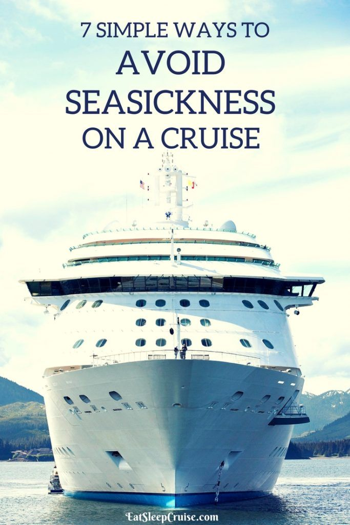 Simple Ways To Avoid Seasickness On A Cruise Cruises Vacation - Where to stay on a cruise ship to avoid seasickness