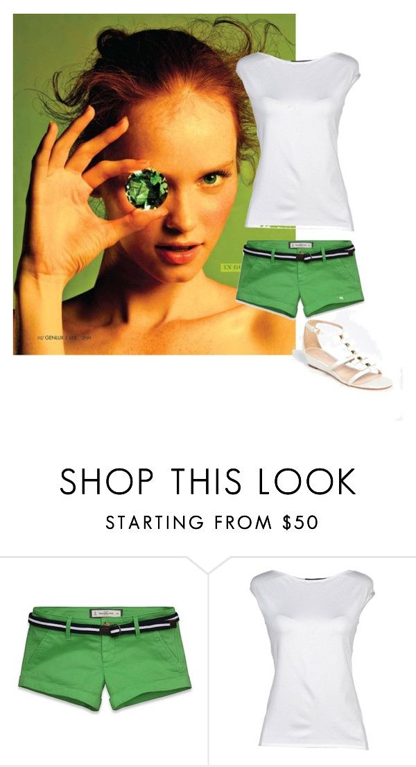 """""""Без названия #8"""" by anutka25 ❤ liked on Polyvore featuring Abercrombie & Fitch, Ralph Lauren Black Label and Kate Spade"""