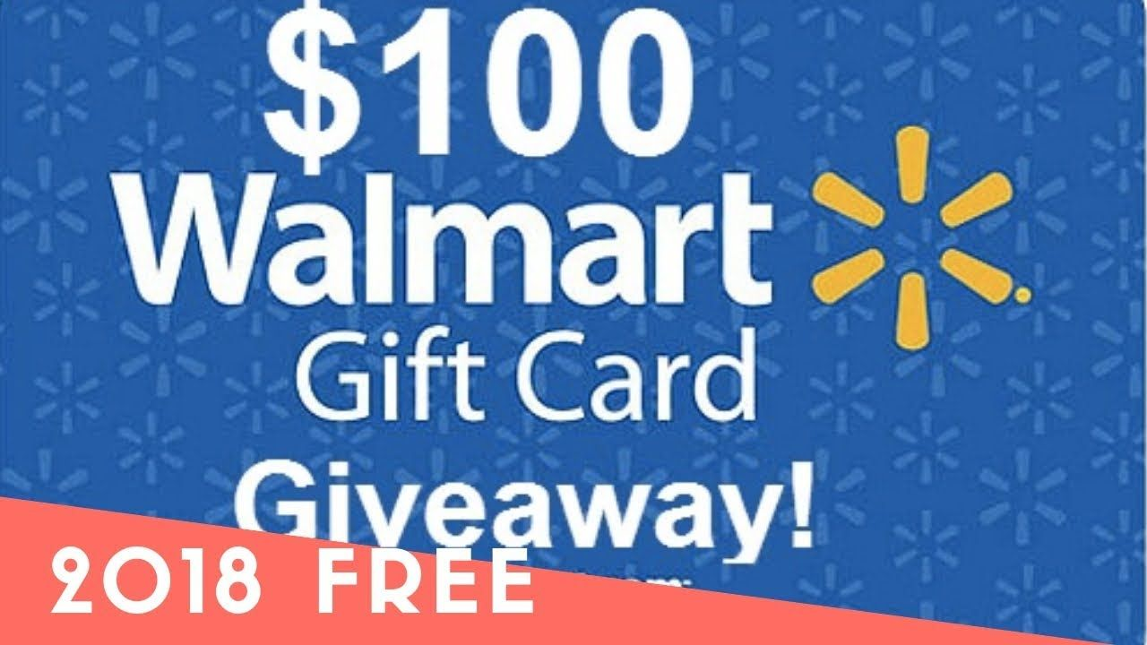 How to get free warlmart gift card 2018 walmart gift