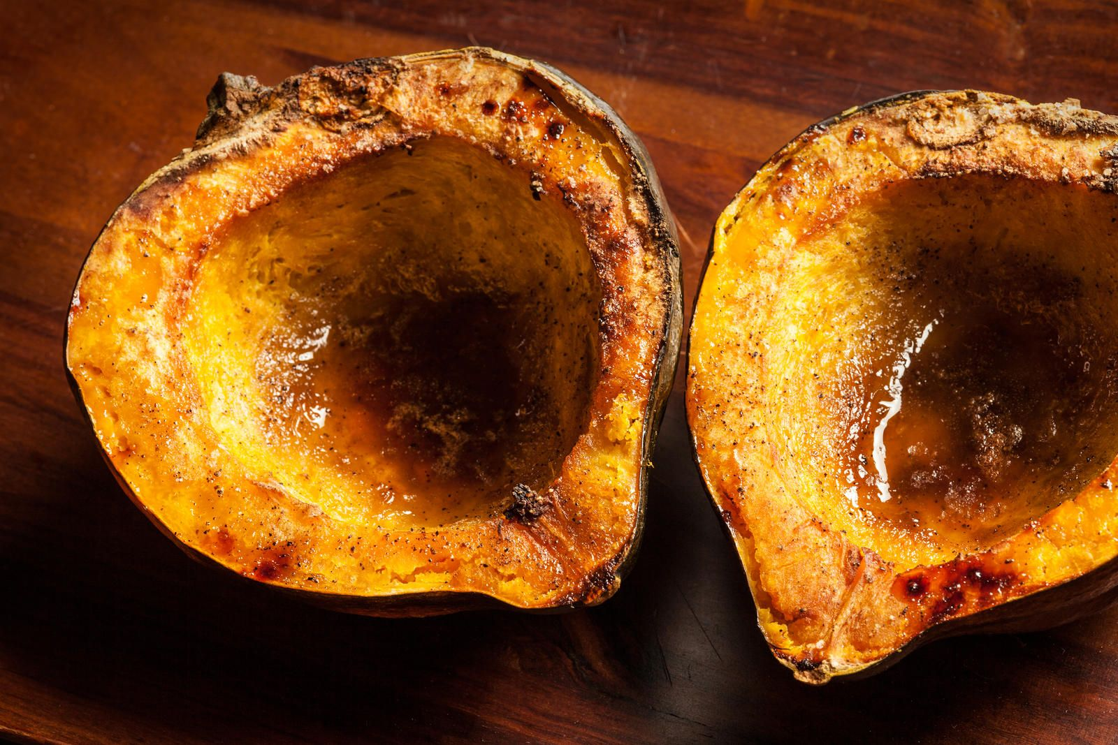 Easy Roasted Acorn Squash Recipe With Images Squash Recipes