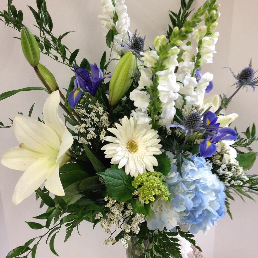 Blue Gerbera Hydrangea Buy Flowers Online Flower Delivery Flowers Online