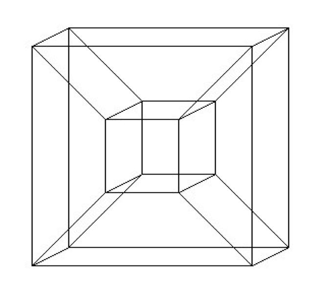 El hipercubo y la cuarta dimensión | Arte | Pinterest | Anime
