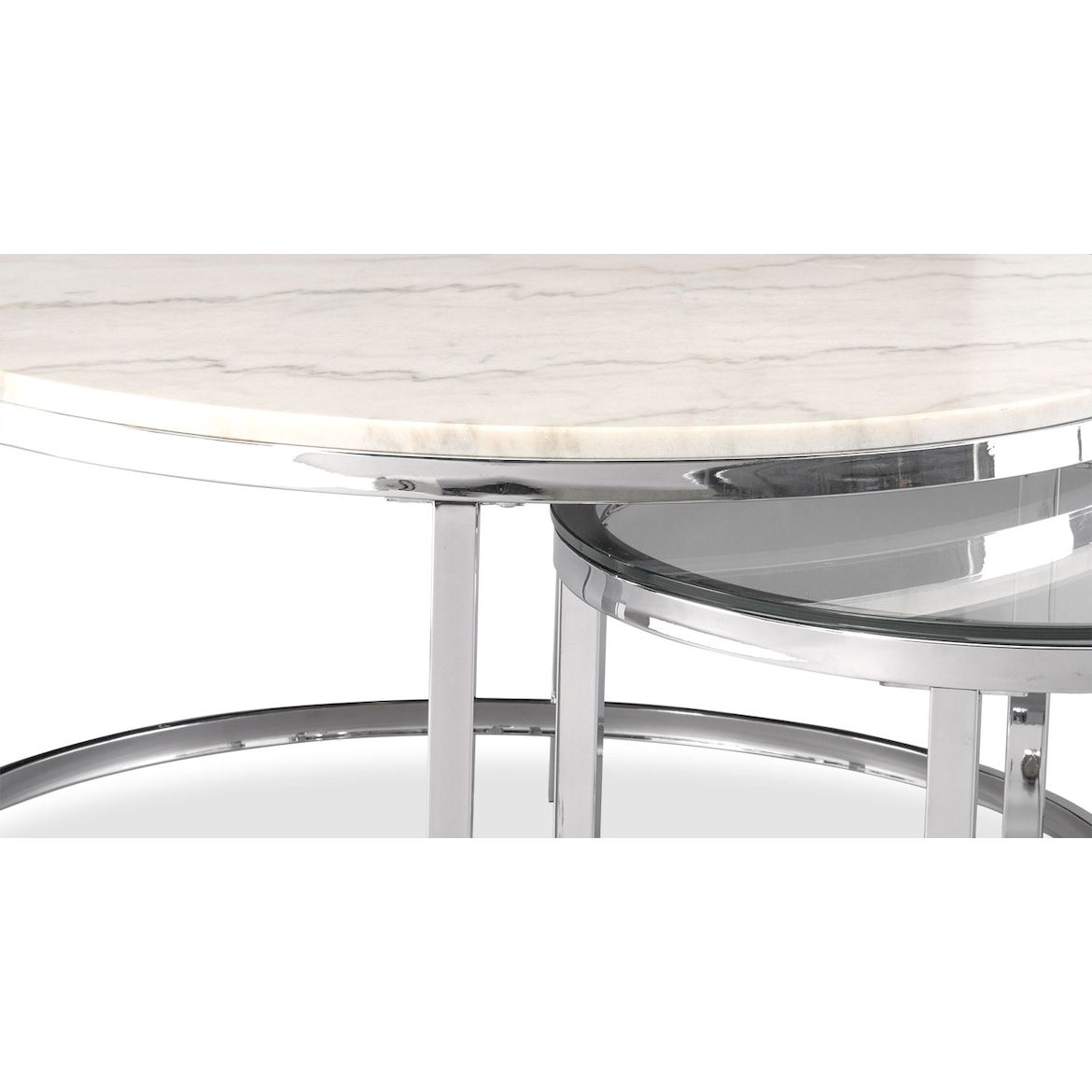 Charisma Marble Nesting Coffee Table American Signature Furniture Nesting Coffee Tables Coffee Table Value City Furniture [ 1170 x 1170 Pixel ]