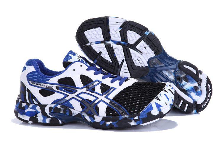 8284b40a7662 For Hubby  Asics Gel Noosa TRI 7 Mens Running Shoe Black White ...