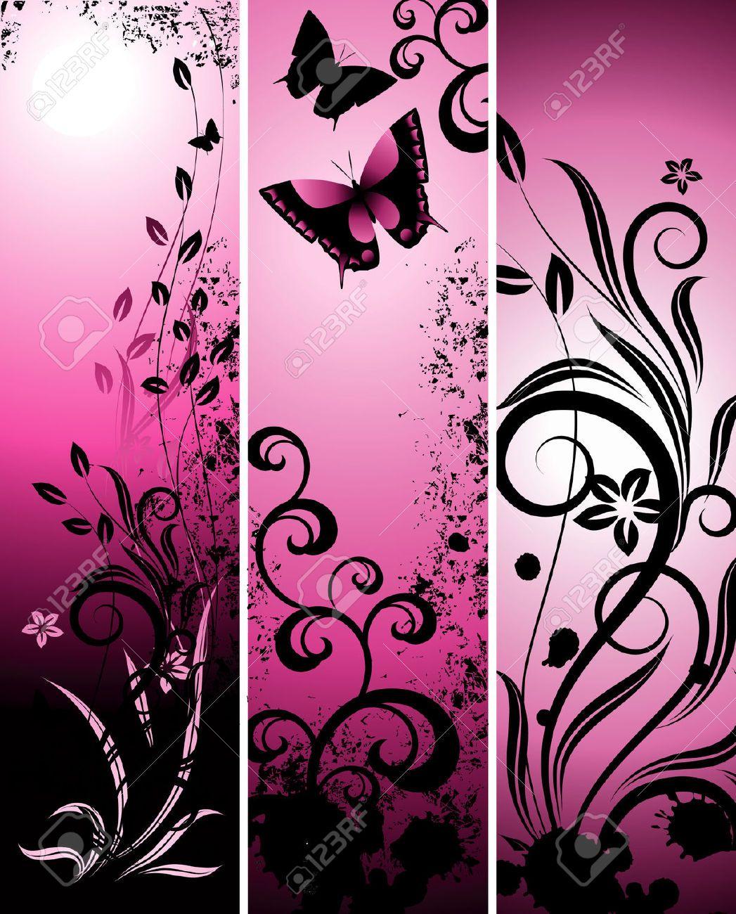 Pink Butterfly Wallpaper: Pin By Kimberly Rochin On BUTTERFLIES WALLPAPER In 2019