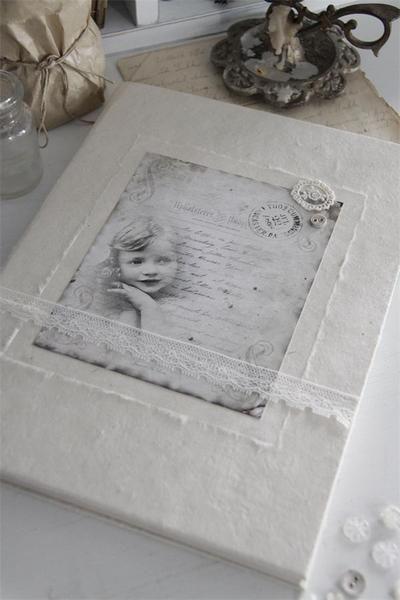 Jeanne d´Arc Living Fotoalbum,Tagebuch von PUREwhite! auf DaWanda.com