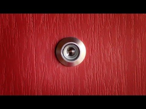 their articles hardware choose in how to doors install door projection and viewer peephole a large