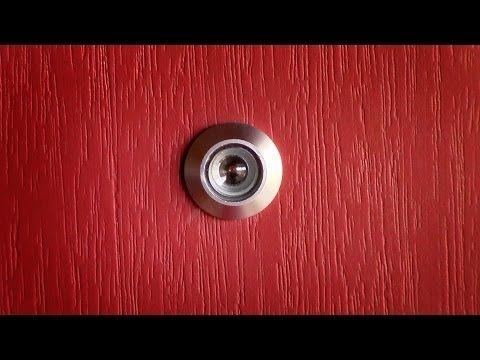 to hole in install peep stry peephole doors door istock steps com how a doityourself