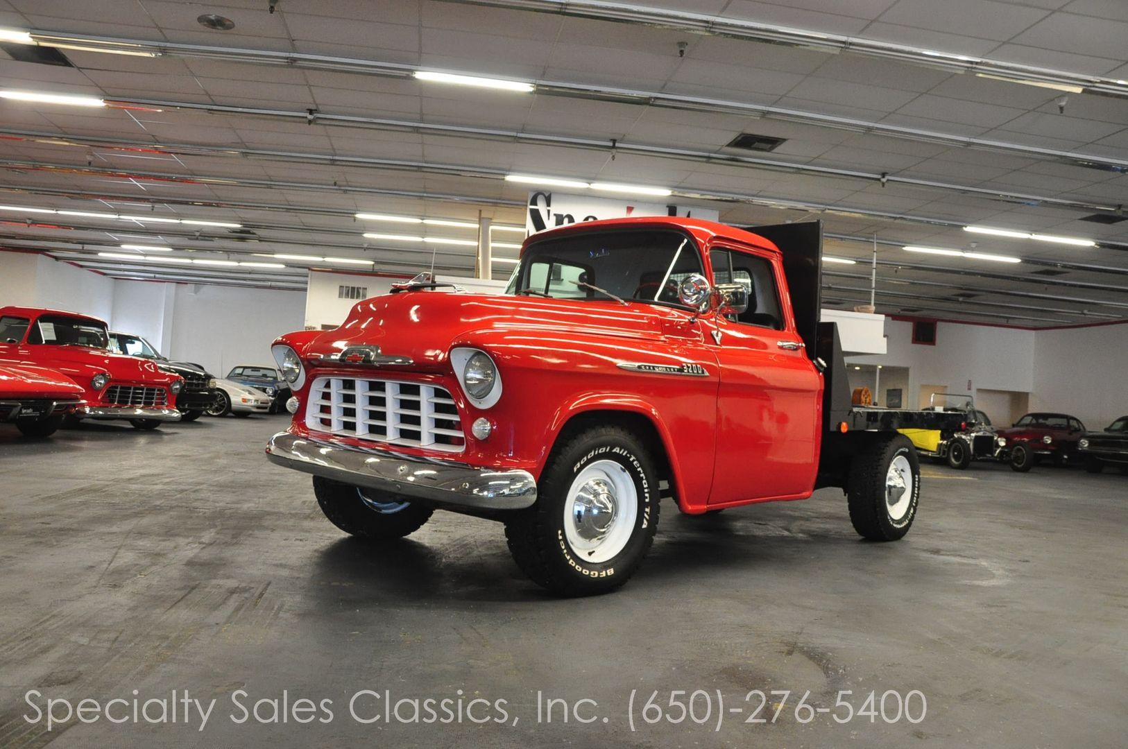 1955 Chevrolet 3200 2 Door Flatbed Dump Truck | Trucks | Pinterest ...