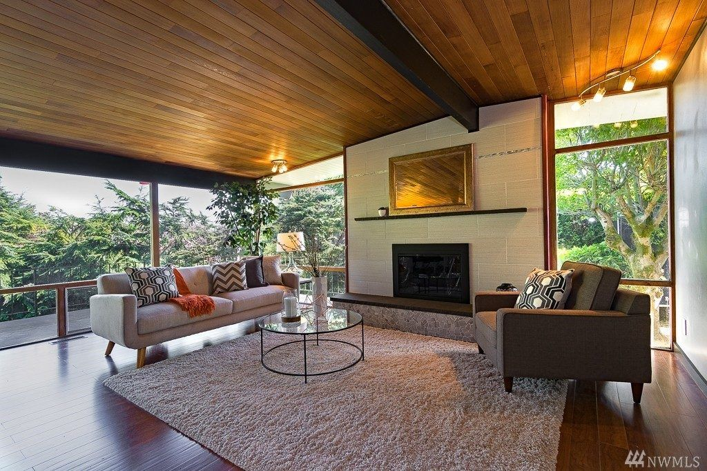 Legendary Seattle architect's midcentury modern home on