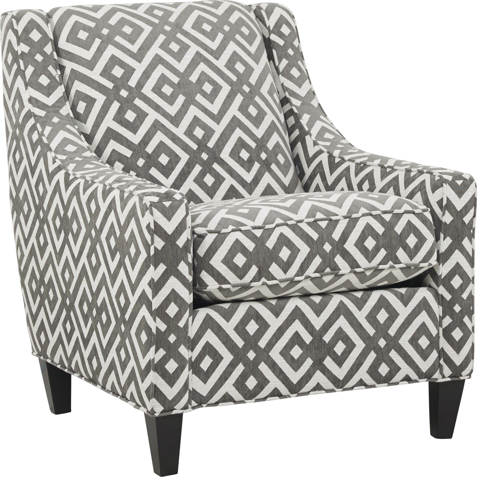 Cindy Crawford Home Chelsea Hills Gray Accent Chair Grey Accent Chair Accent Chairs For Living Room Accent Chairs