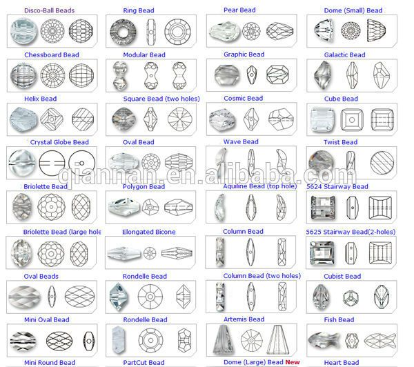 Bead Shapes Google Search Charts Pinterest Beads