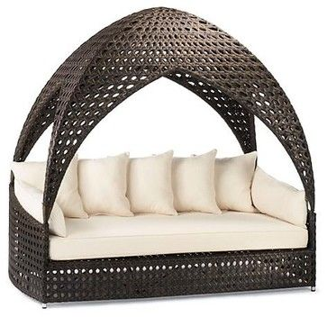 Bali Outdoor Daybed   Frontgate, Patio Furniture   Traditional   Day Beds  And Chaises