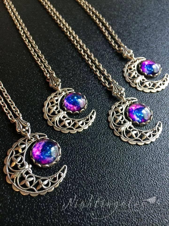 Celestial Moon Necklaces