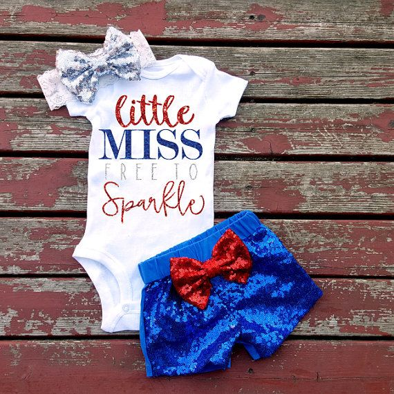 Little Miss Free To Sparkle Bodysuit Summer by GLITTERandGLAMshop