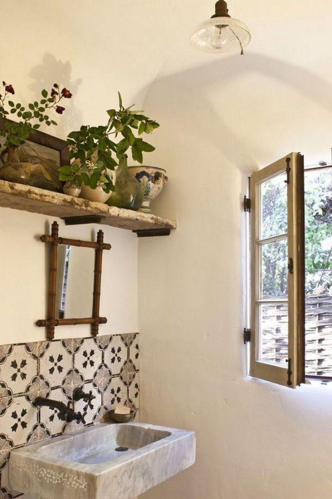 De 10 meest creatieve badkamers met planten | Merida, Toilet and House