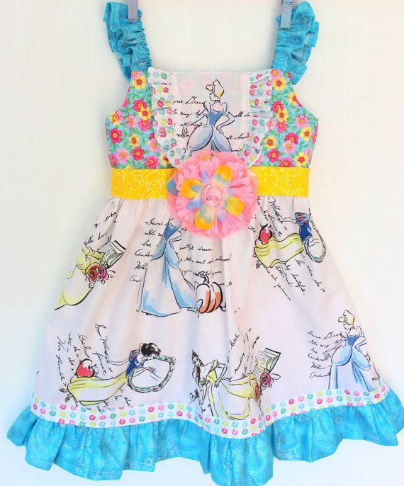 Cinderella's Ball Gown  Dress by WildOliveKids on Etsy, $38.00