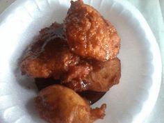Mi Cocina Salvadoreña: Nuegados de Yuca (Receta Salvadoreña)