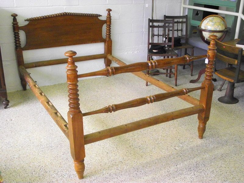 Antique Rope Bed Spool Bed Jenny Lind Original By Oldmillvintage Spool Bed Antique Rope Headboard And Footboard