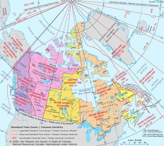 canada time zone map » Another Maps [Get Maps on HD]   Full HD ...