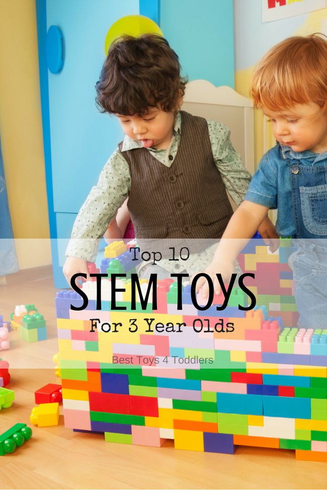 Top 10 Stem Toys For 3 Year Olds Best Toys 4 Toddlers