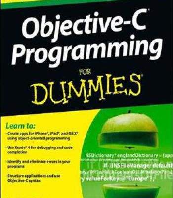 Objective C Programming For Dummies By Neal Goldstein Pdf