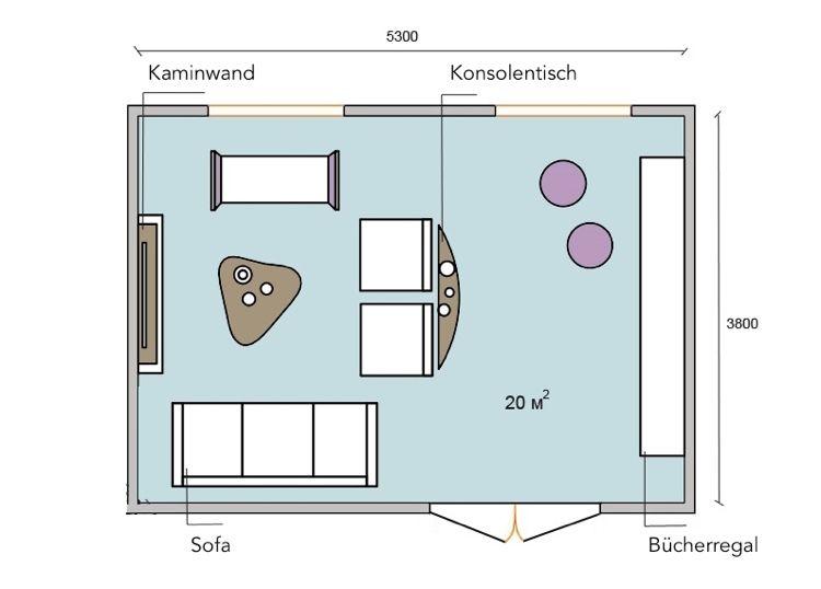 20 Qm Wohnzimmer Einrichten Layout Beispiele Und Smarte Gestaltungsideen Wohnzimmer Einrichten Sitzgruppe Wohnzimmer