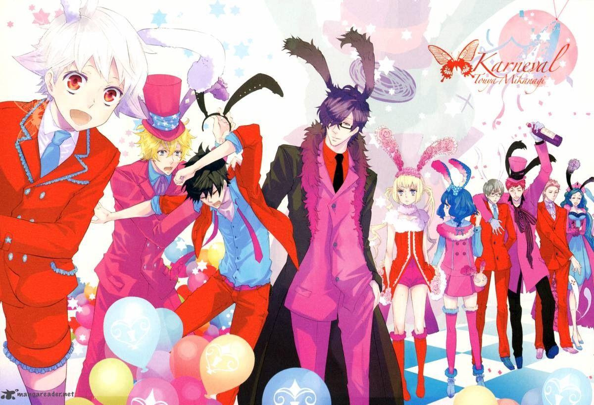 Karneval! Anime, Anime images, Anime wallpaper
