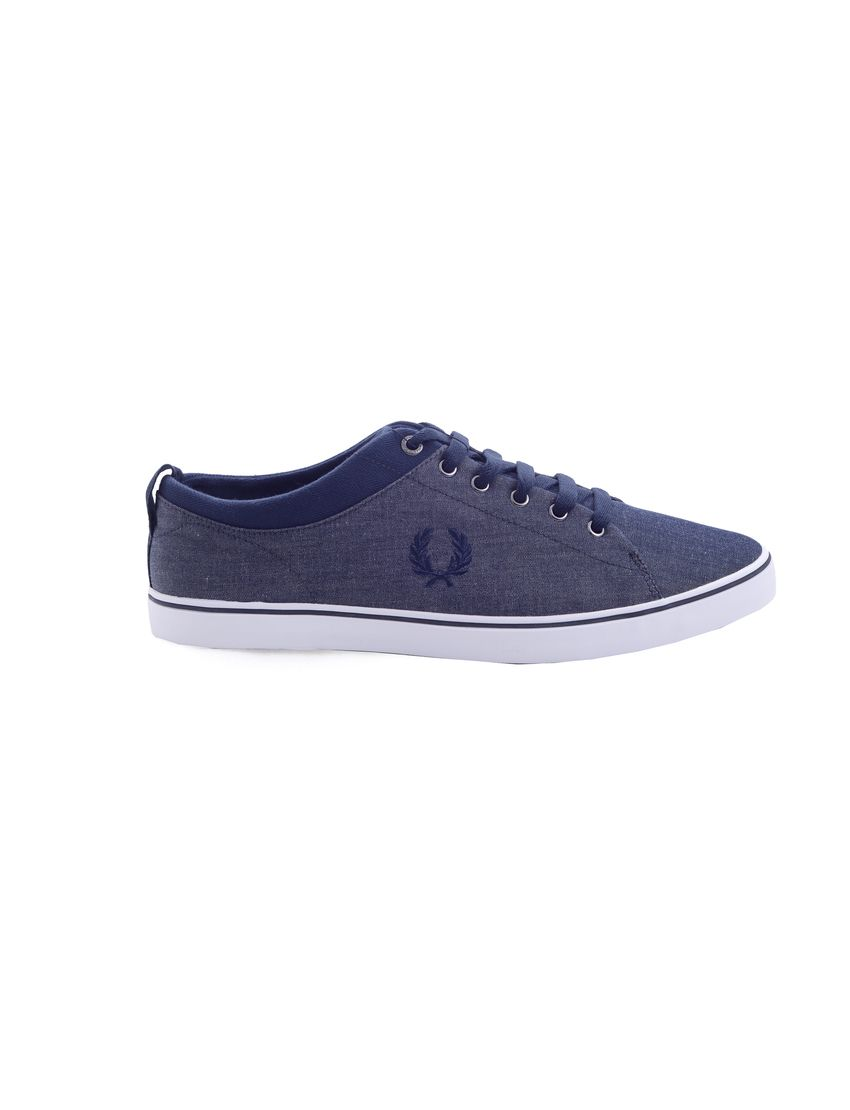 FRED PERRY Παπούτσι HALLAM WINTER CHAMBRAY - http://men.bybrand.gr