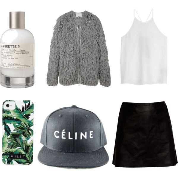 """Style Set #80"" by thestylelab on Polyvore. I'd do it without the hat though"