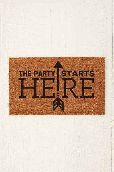 4040 Locust Party Started Door Mat My Apt Cute Door
