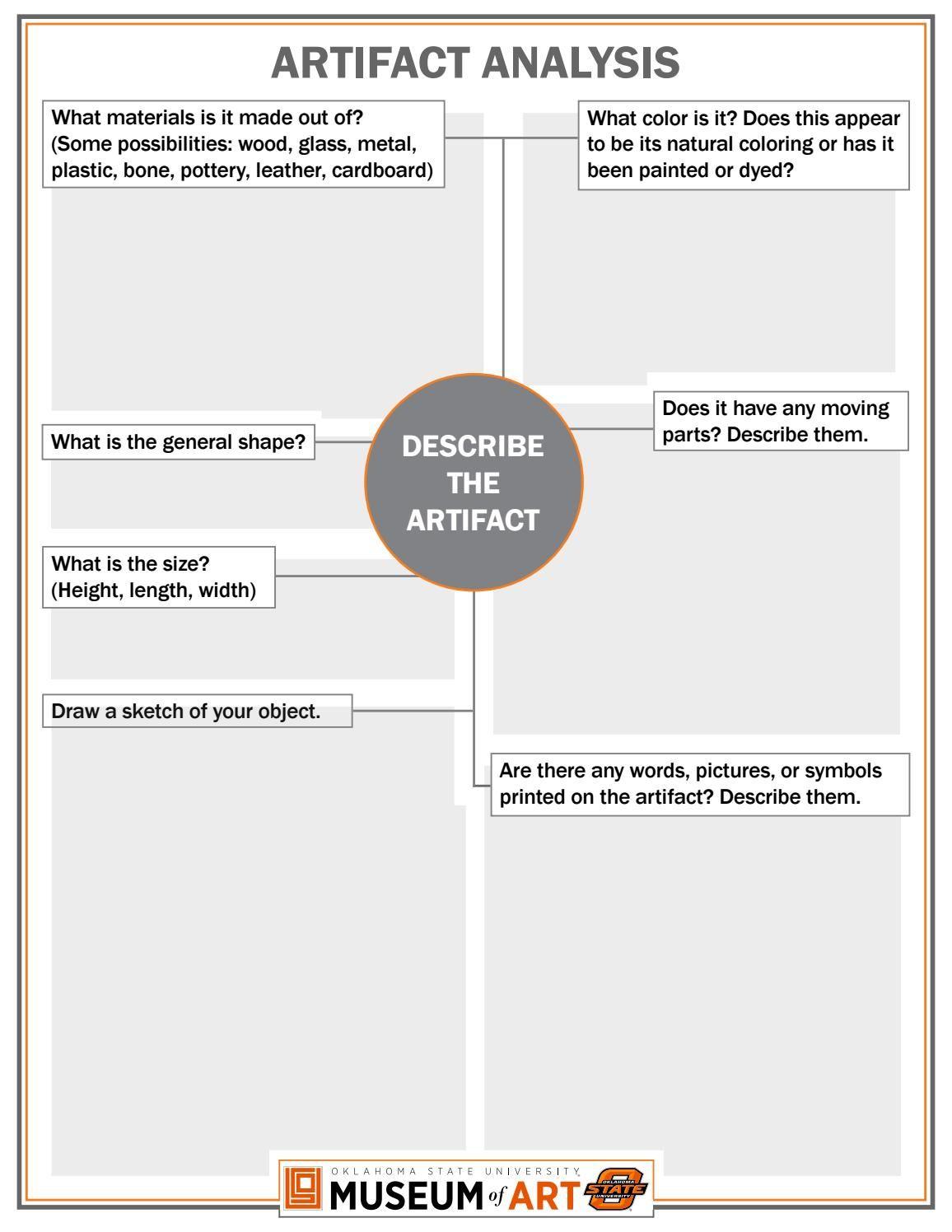 Artifact Analysis | EDUCATOR'S RESOURCES | Social studies ...