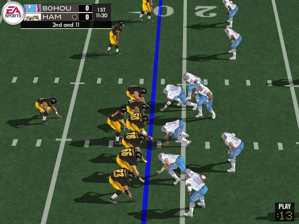 Rustys madden lair some madden 2004 pc screen caps