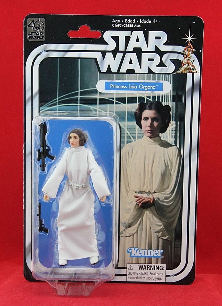 Star Wars The Black Titanium Series Princess Leia Organa Action Figure HASBRO