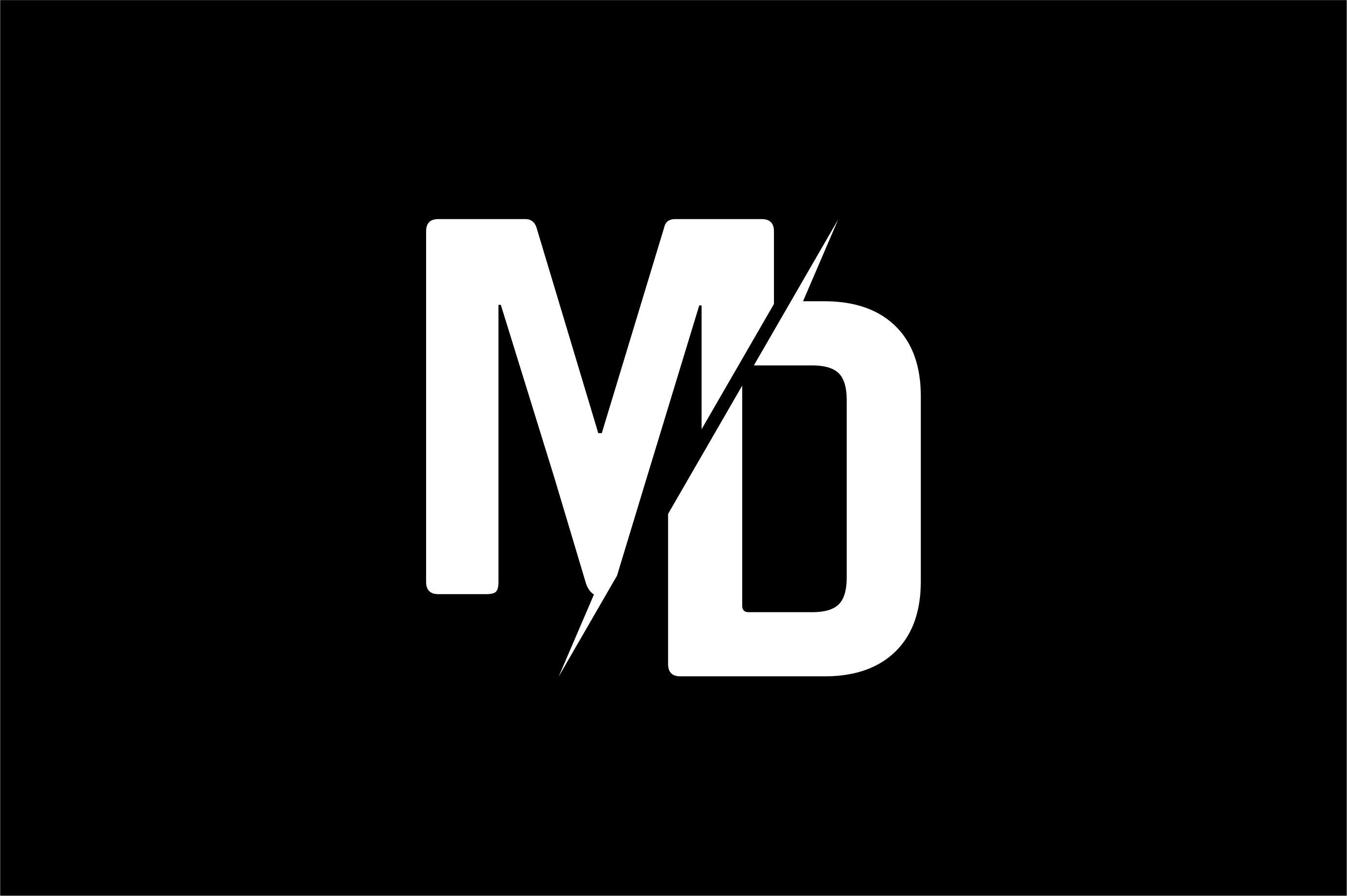 Monogram MD Logo Design in 2020 Logo design, Logos