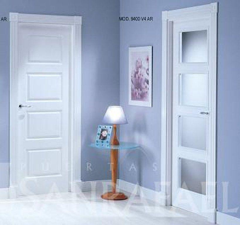 Rodapie marmol puertas blancas buscar con google for Puertas madera blancas