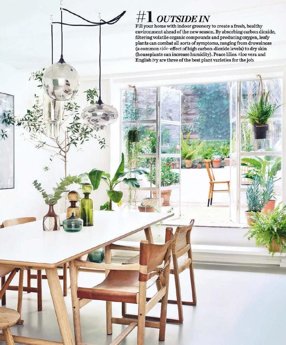 Elle Decoration May 2015 Uk Condo LivingDining Room