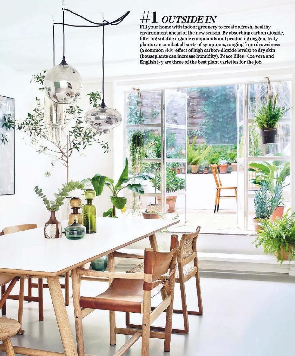 Elle Decoration May 2015 Uk Condo LivingDining Room