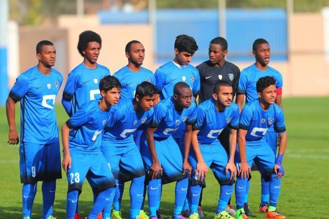 Al Hilal Junior Football Team Wins 4 0 Over Football Team