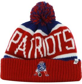 a0749fb51a5ece '47 Brand Men's New England Patriots Calgary Cuffed Knit Hat - Dick's  Sporting Goods. '