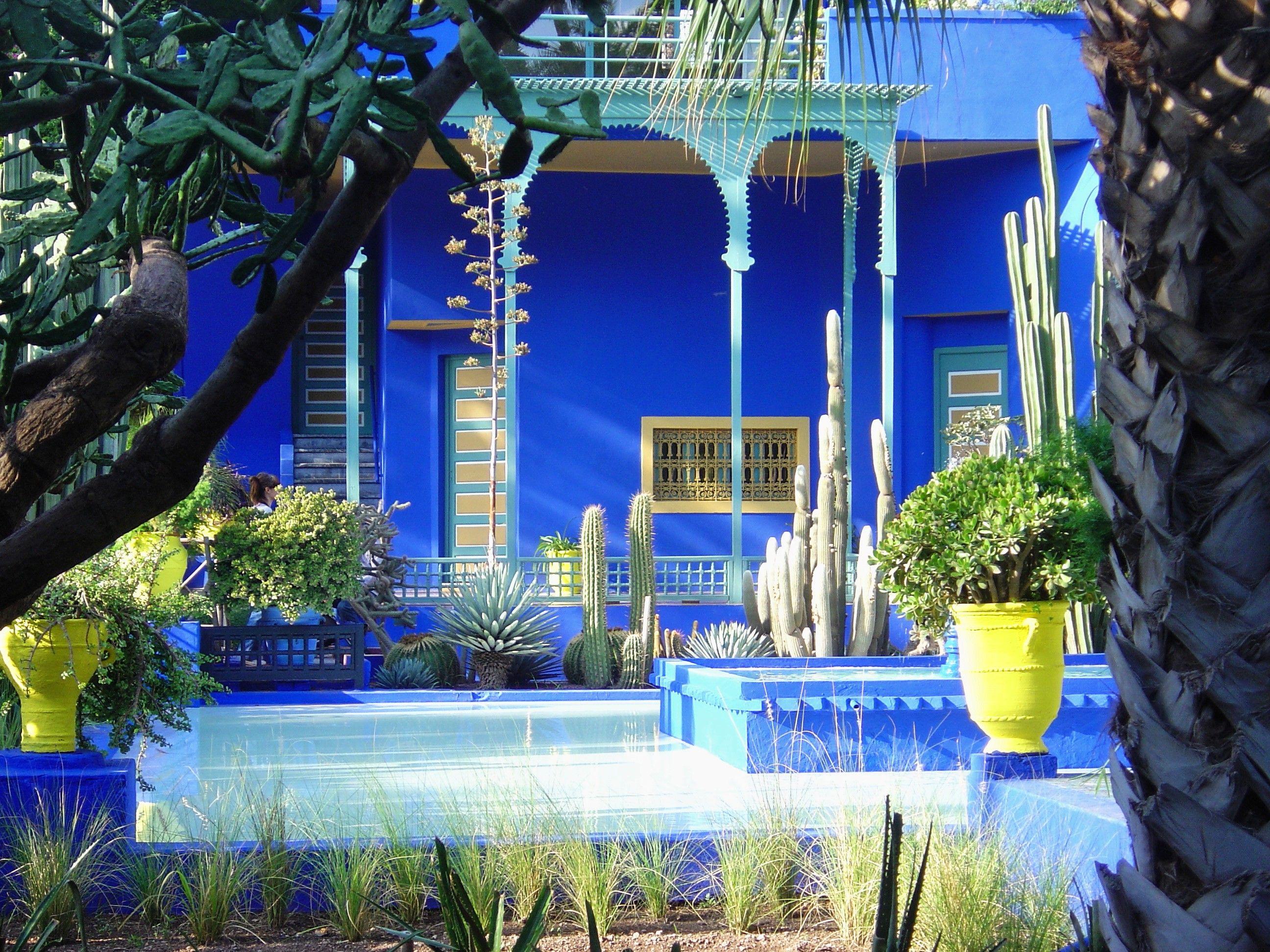 Le Jardin Majorelle Marrakech Maroc