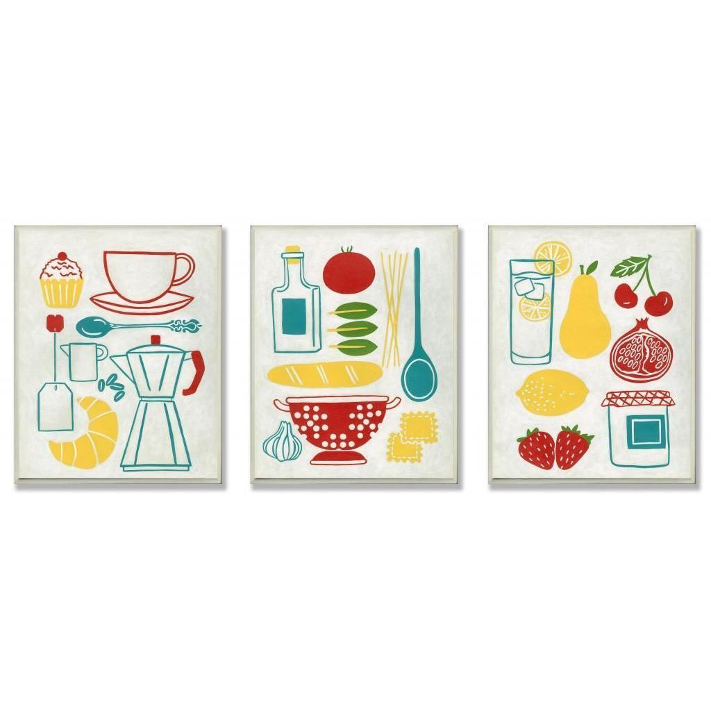 Stupell sunday breakfast dinner and picnic wall plaque yummy