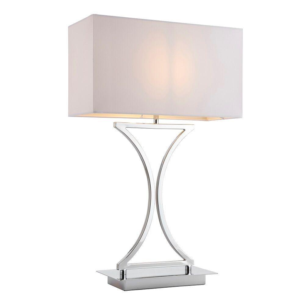 National Lighting Granville rectangular table lamp in