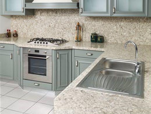 Cascade White Quartz Quartz Kitchen Countertops Rustic Kitchen
