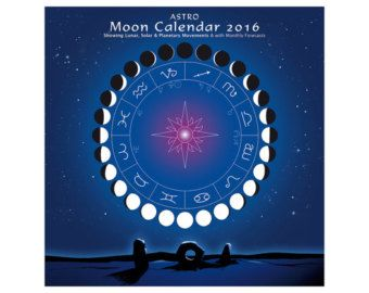 Lunar MOON CALENDAR 2016