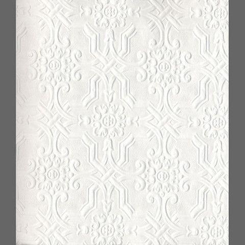 Anaglypta Original Berkeley Embossed Paintable Wallpaper By Burke Decor Paintable Wallpaper Paintable Textured Wallpaper Textured Wallpaper